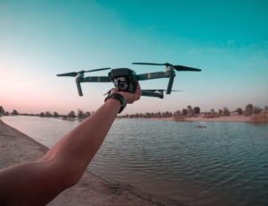 dron frontal