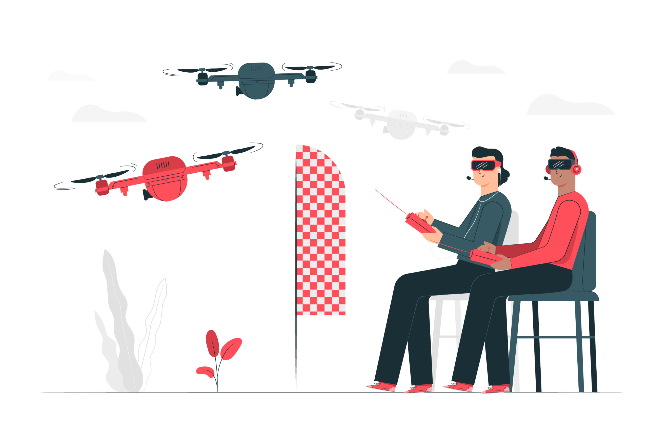 carreras de drones fpv