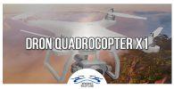 Dron Quadrocopter X1