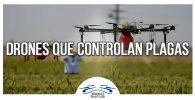 ¿Drones que controlan plagas de insectos? Sí, es una realidad
